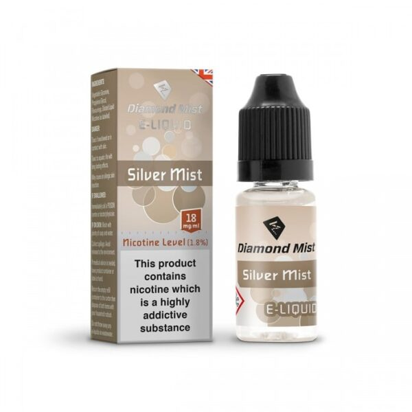 Silver Tobacco E Liquid UK | Best Vape Juice By Diamond Mist