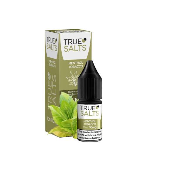 True Salts E Liquid - Menthol Tobacco