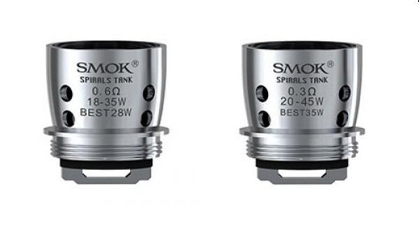 Smok Spiral Replacement Coils UK For Spiral Tanks G80 Kit