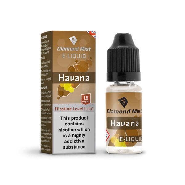 Havana Tobacco Diamond Mist E Liquid
