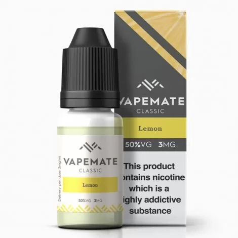 Vapemate classic Lemon vape liquid in UK