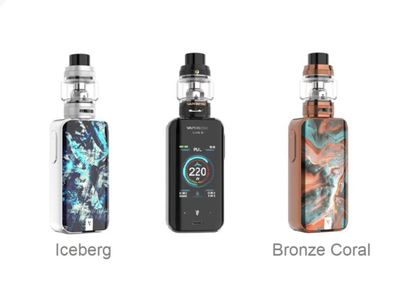 Vaporesso Luxe 2 Kit UK with 220w Mod and Tank