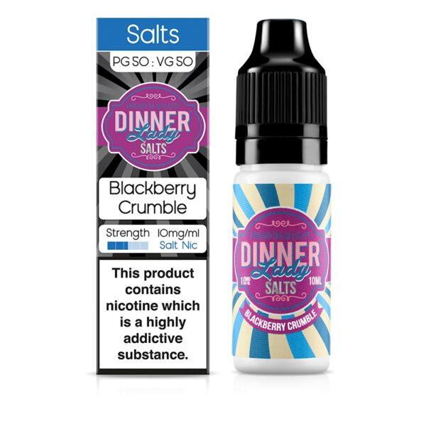 Dinner Lady Blackberry Crumble 10ml Nic Salt Liquid